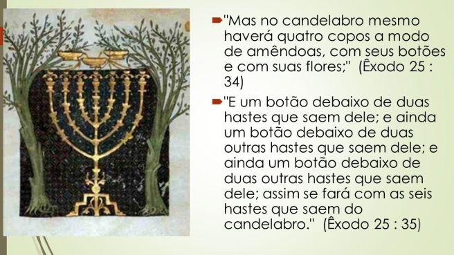 candelabro espírito santo